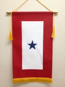 blue star flag from bald eagle flag store