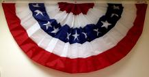 patriotic pleated fan from bald eagle flag store fredericksburg va serving rihmond, hampton, petersburg, norfolk, newport news, va beach, arlington, alexandria, fairfax, winchester, harrisonburg, roanoke