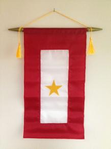 gold star flag from bald eagle flag store, indoor flags fairfax, indoor flags hampton, indoor flags portsmouth, indoor flags roanoke, indoor flags va beach, indoor flags chesapeake, indoor flags richmond, indoor flags arlington, indoor flags newport news, indoor flags fredericksburg