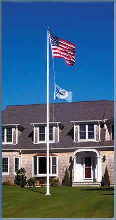 FIBERGLASS FLAGPOLE SALES BY BALD EAGLE INDUSTRIES