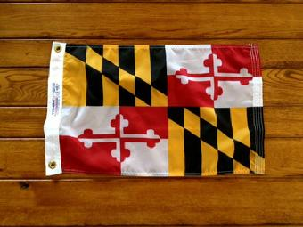 maryland flag at bald eagle flag store