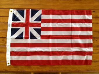 grand union flag from bald eagle flag store fredericksburg va