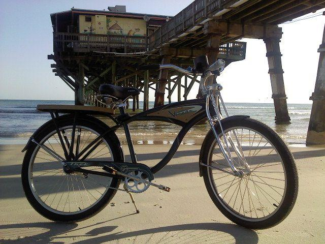 Beach Cruiser Bikes Virginia Beach woody beach cruiser on daytona