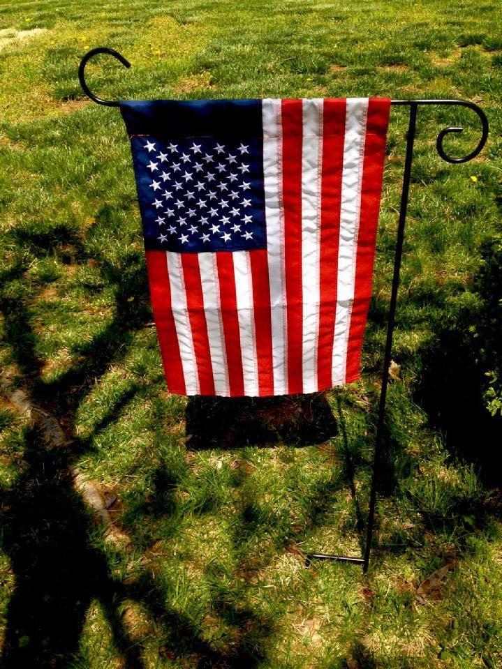 MILITARY GARDEN FLAGS FROM BALD EAGLE FLAG STORE VA