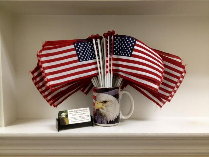 annin flagmakers ball top us flags from bald eagle flag store and bald eagle industries, the oldest flag store in fredericksburg, high quality flagpoles, flags and flag products